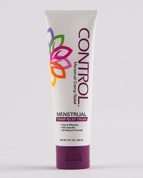 image of control menstrual cramp relief cream
