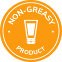 non-greasy product